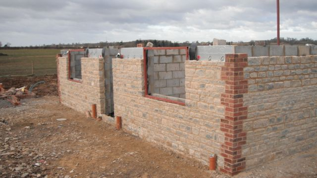 new-build-house-walls-erected