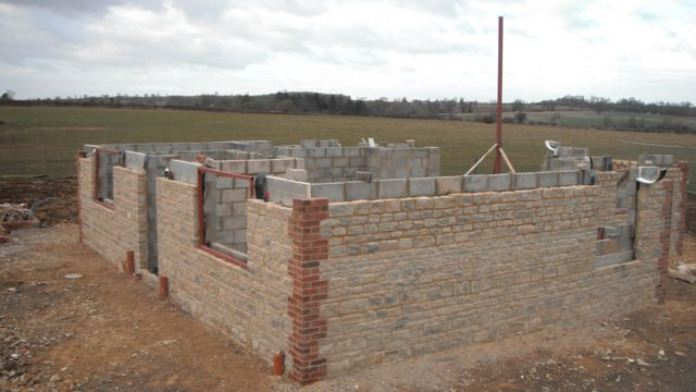 new-build-house-walls-window-openings