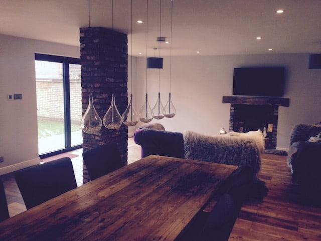 Single Storey Kitchen Extension Northampton Builder