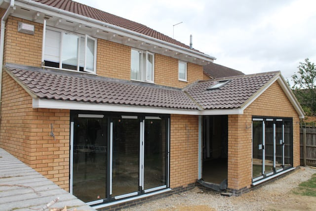 Single Storey Kitchen Extension Northampton Builder