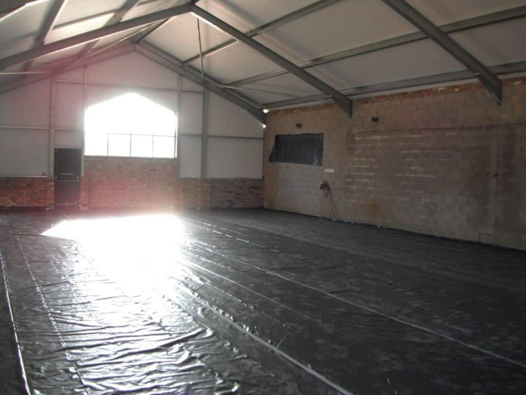 New gym interior